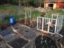 Bilder från skapandet av köksträdgården