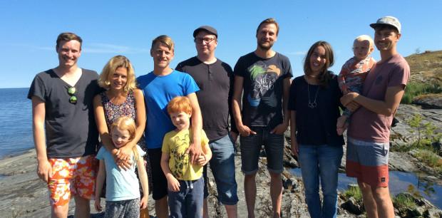 Henrik, Sara, Lova, Johan, Noel, Viktor, Andreas, Ellinor, Edvin och Anton