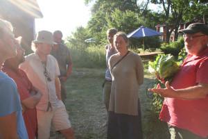 Intressanta möten under förra årets Frijord festival