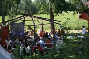 Förra årets sommarföreläsning på Arvsbygården