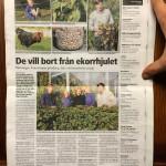 Artikel i Länstidningen Värmlandsbygden